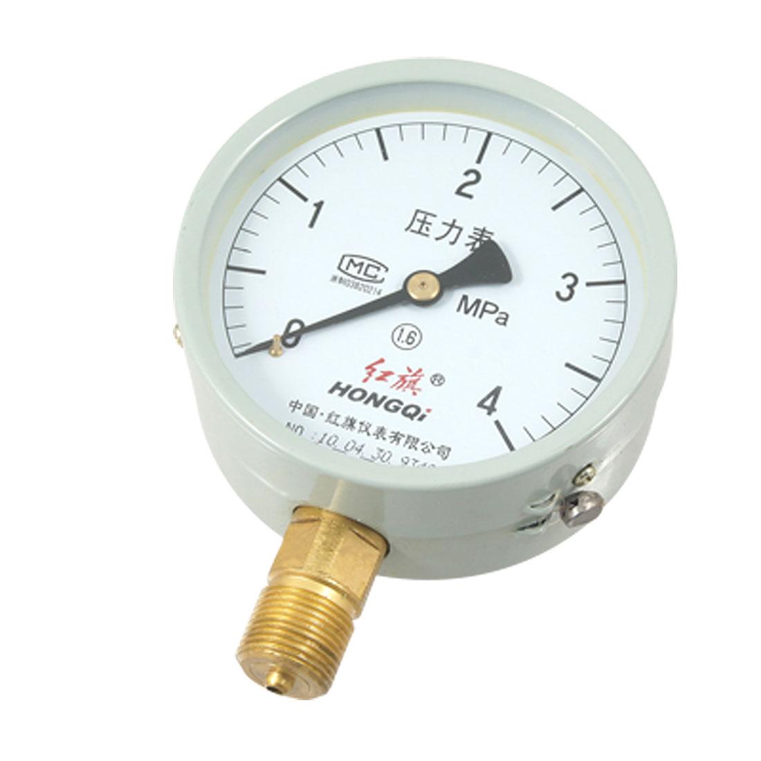 """3/4"""" NPT 4Mpa Pressure Intensity Air Water Gauge"""