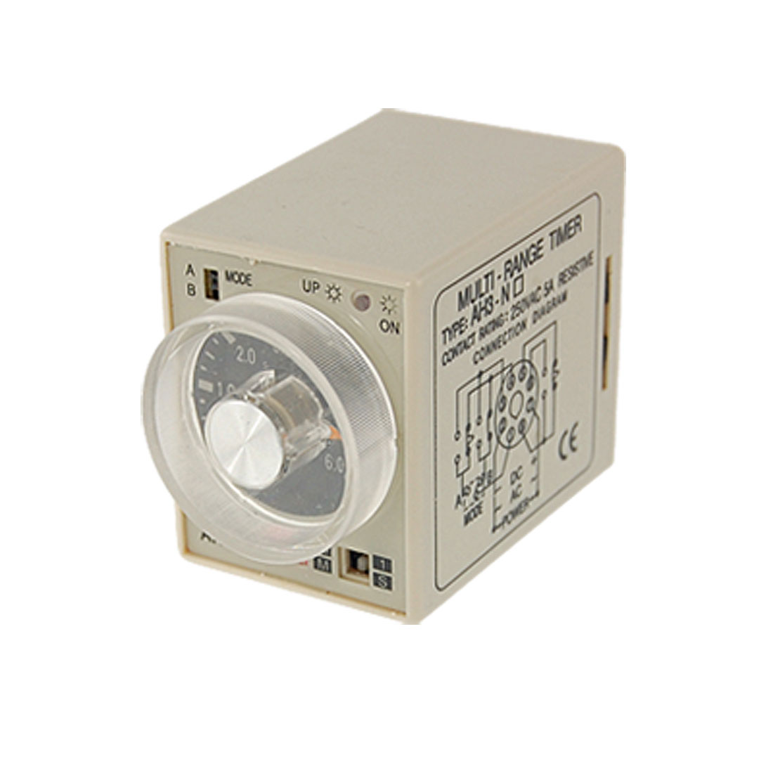 Industrial Timer AH3-NC 6S - 60M AC220V Time Delay Relay