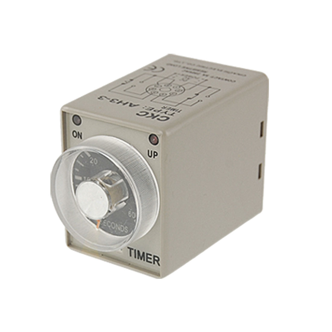 AH3-3 AC 110V Power on Delay Timer Time Relay 0-60 Second 60s 60 Sec 8 Pin