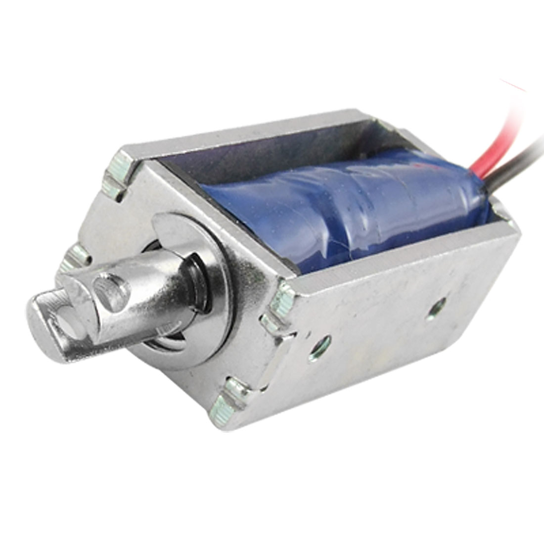 5mm Stroke Open Frame Pull Type Electromagnet Solenoid DC 12V 0.4A