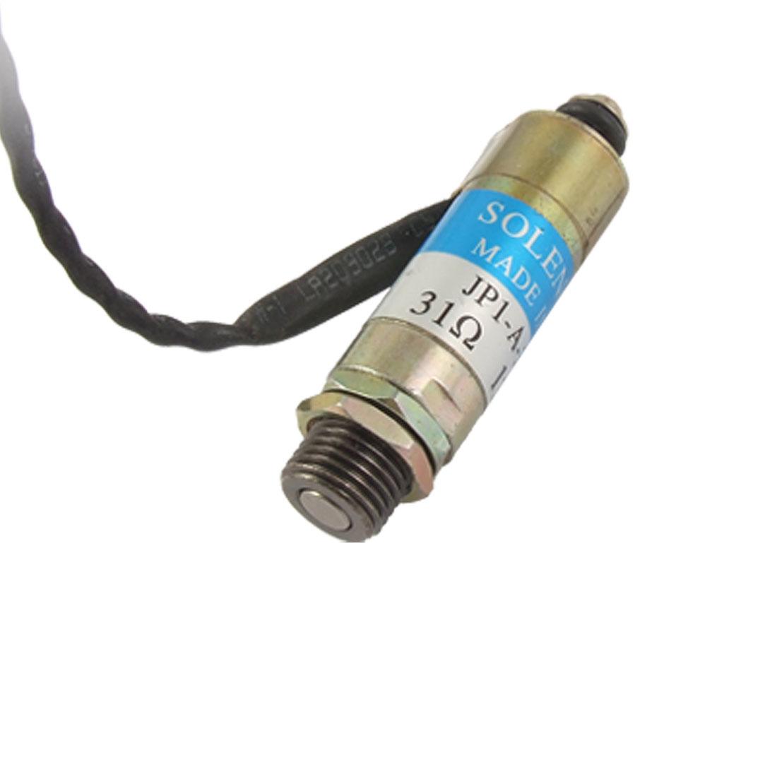 4mm Stroke Tubular Type Solenoid Electromagnet DC 24V 0.7A