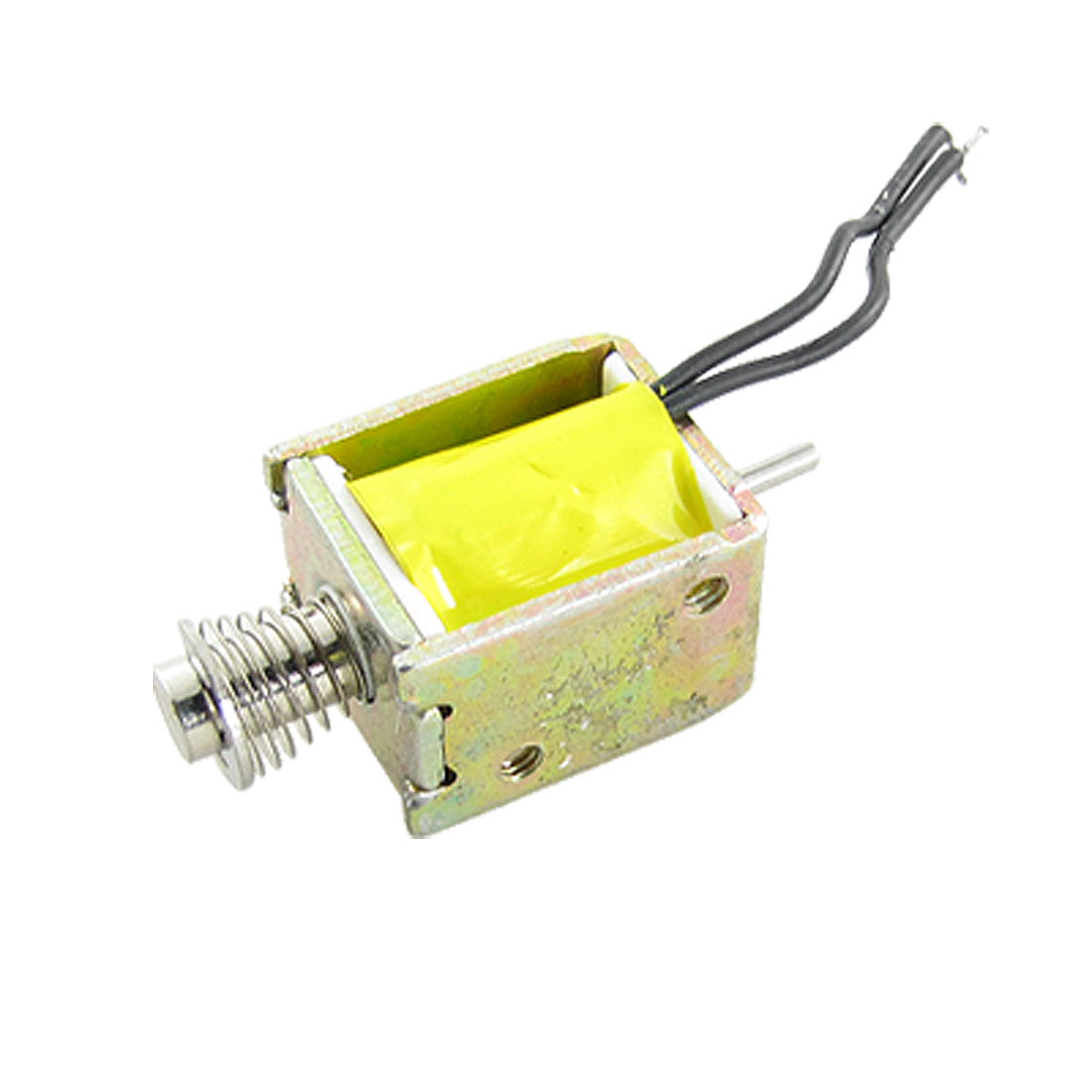 DC 12V 0.2A Push Type Open Frame Actuator Electric Solenoid