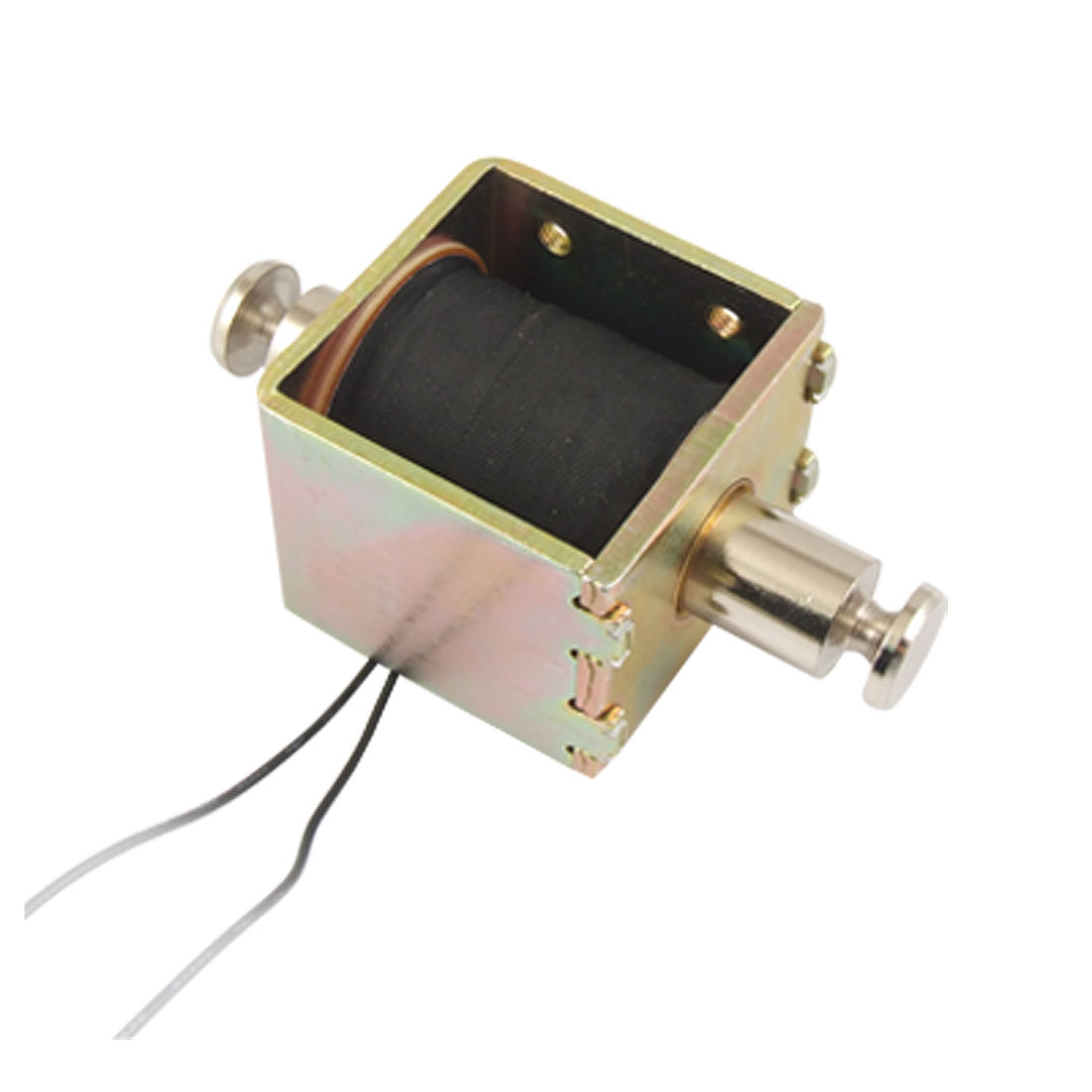 DC 24V 0.67A 3mm Stroke Open Frame Electric Solenoid Electromagnet