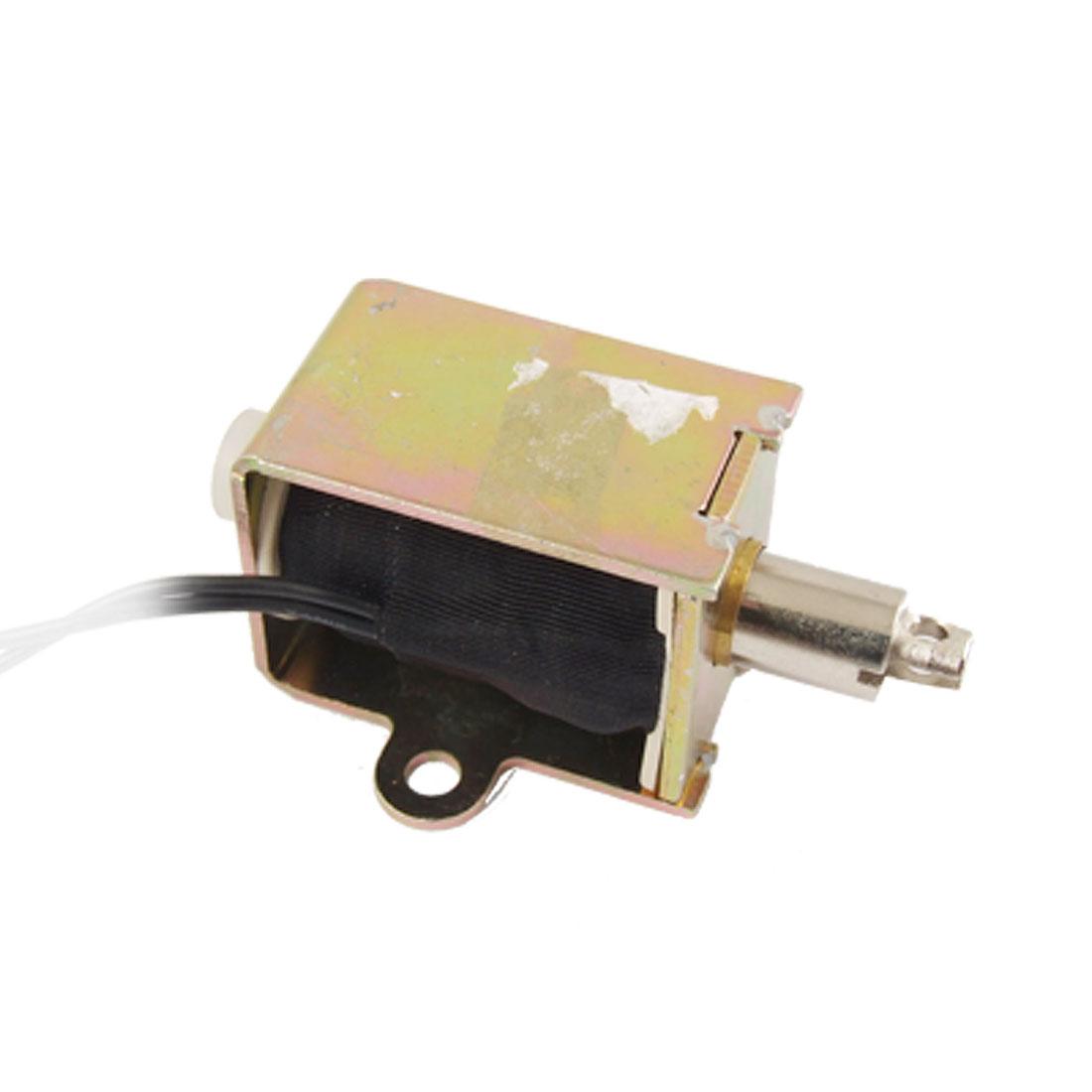 DC 24V 0.96A 10mm Stroke Open Frame Pull Type Electromagnet