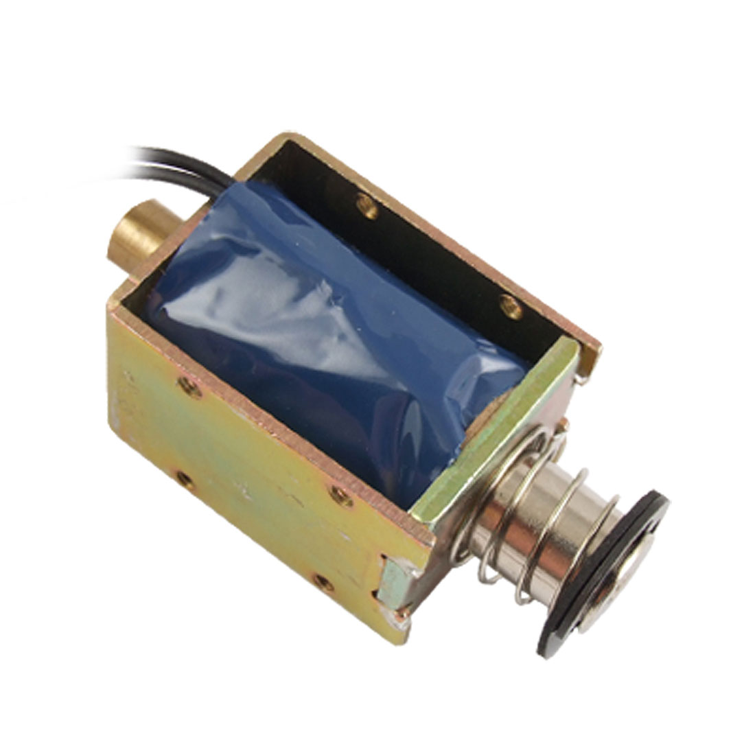 DC 24V 4.5W 0.34A Push Type Open Frame Linear Motion Solenoid
