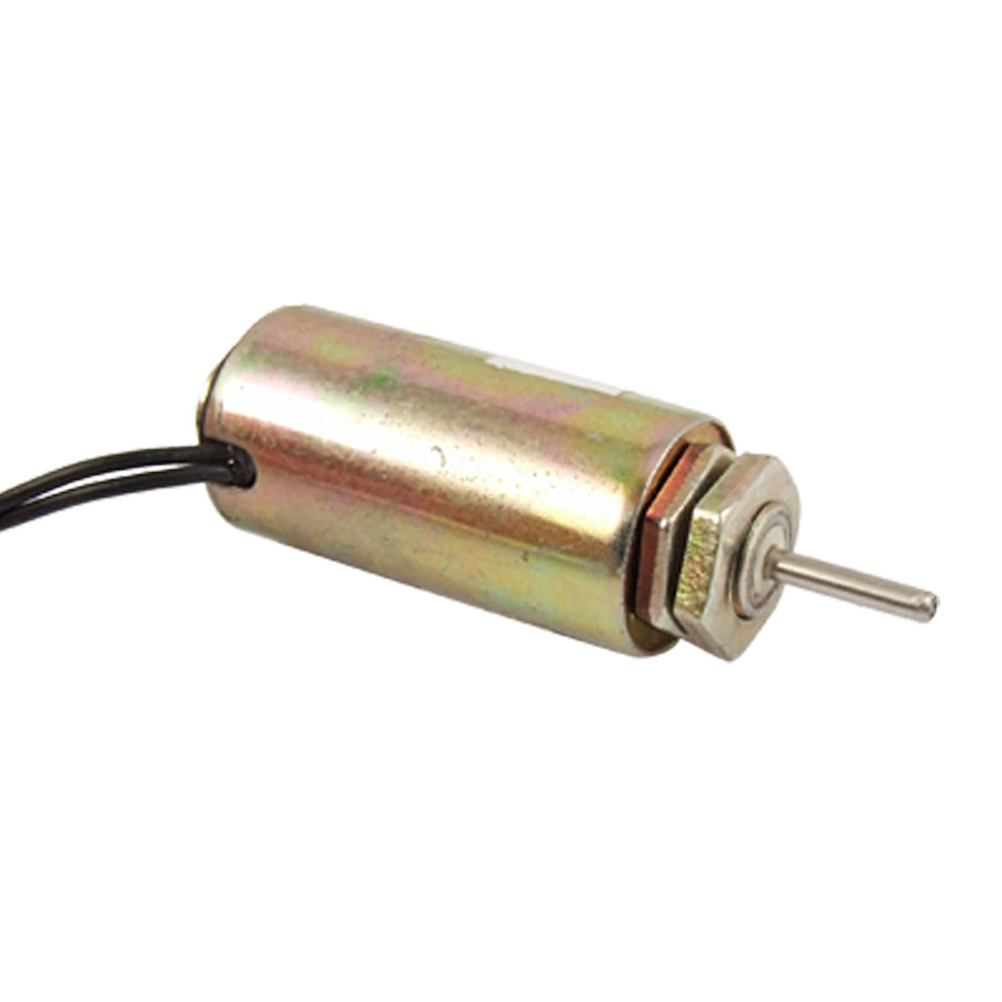 DC 12V 0.4A 2.5mm Stroke Push Type Tubular Solenoid Coil