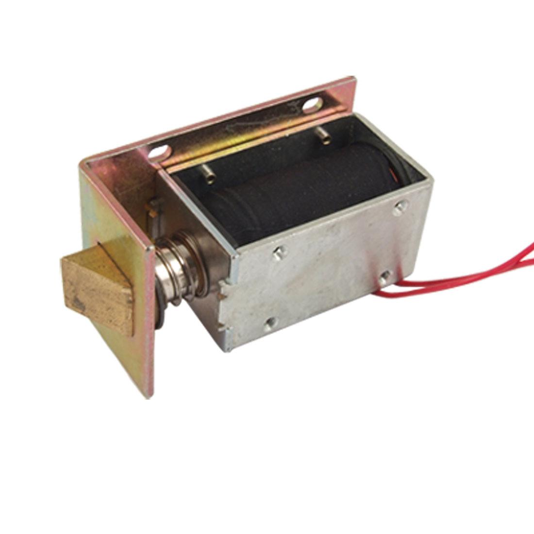 1.7A DC 12V Open Frame Type Electromagnet Solenoid Lock