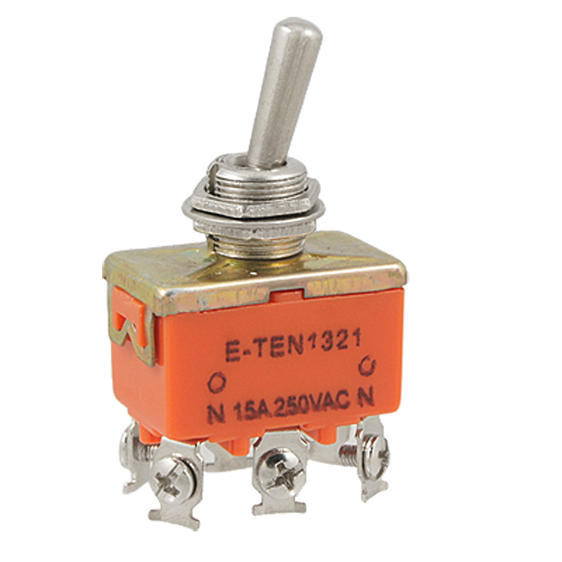 AC 250V 15A ON/ON DPDT 2 Position 6 Screw Terminals Toggle Switch