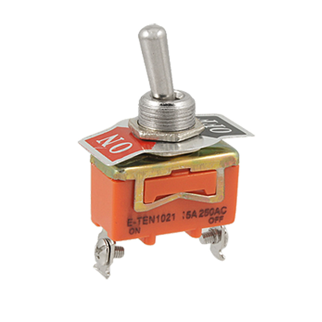 AC 250V 15A ON-OFF SPST 2 Position 2 Terminals Toggle Switch