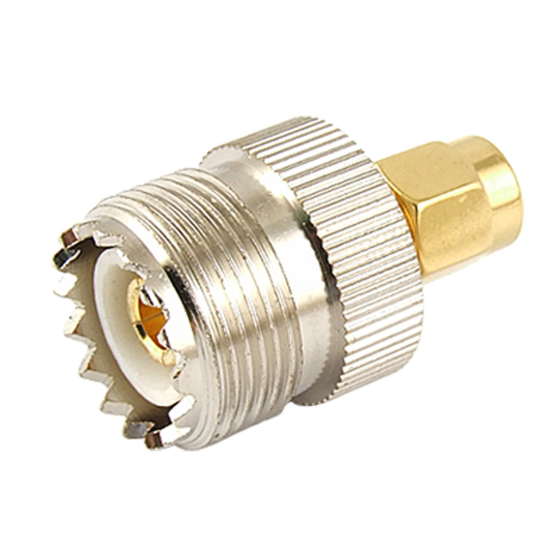 UHF SO-239 SO239 Female to SMA Male Connector Connector Coaxial Adapter