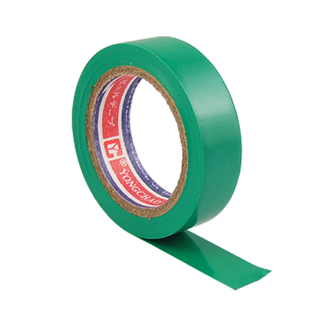 Cable Wrapping Plastic Green Adhesive Insulation Tape 10M