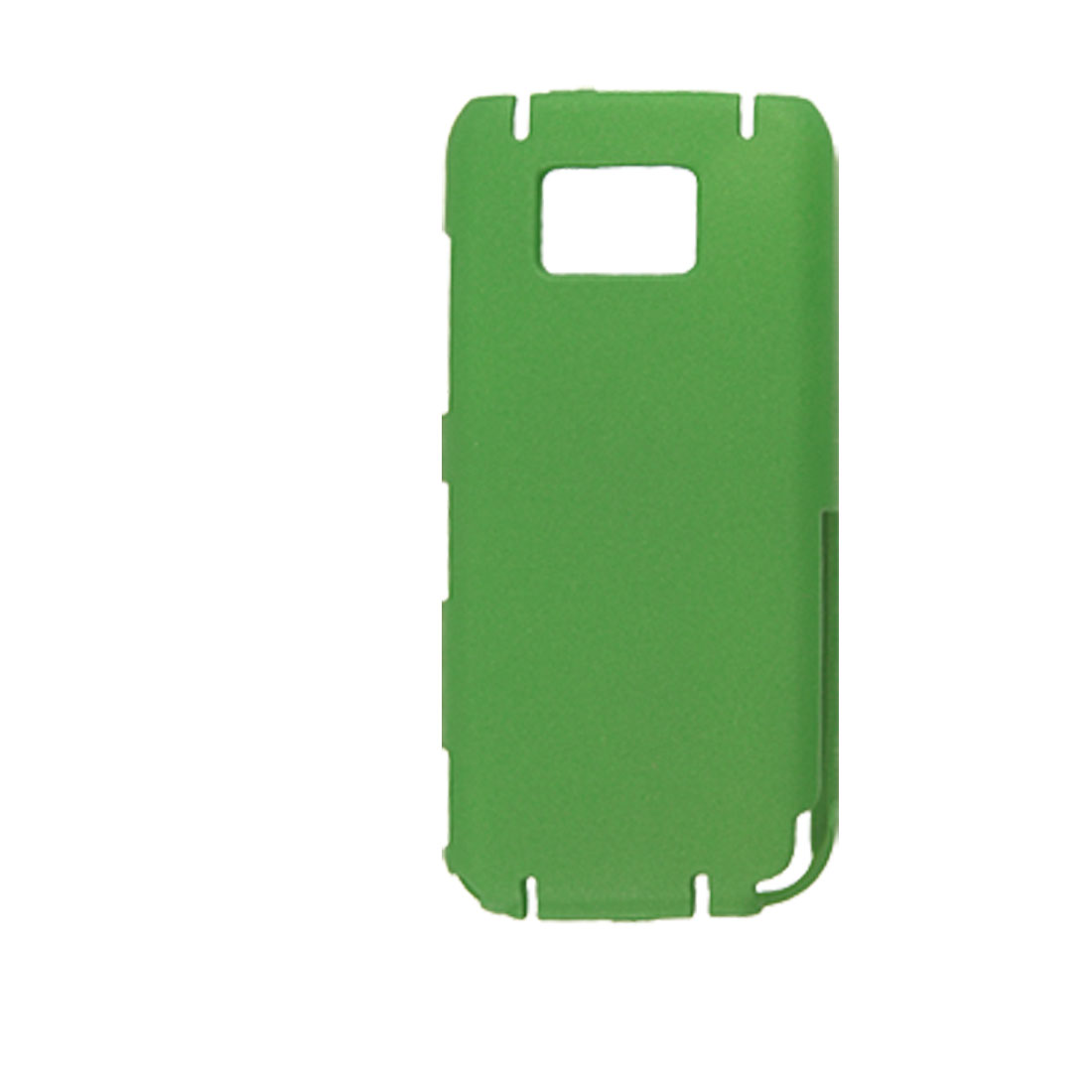 Green Rubberized Hard Plastic Back Case Protector for Nokia 5530