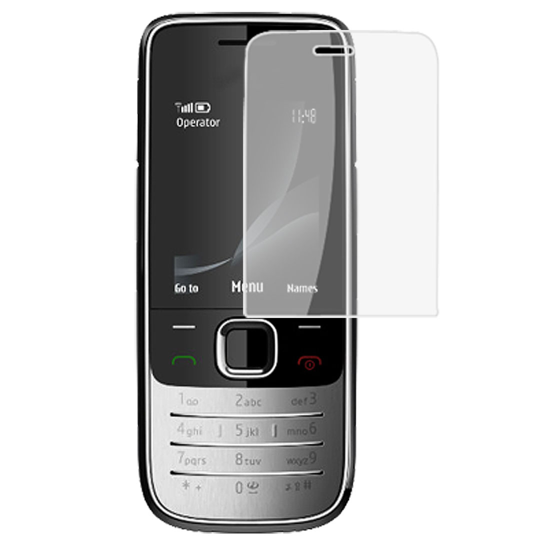 Clear Plastic LCD Screen Film Guard for Nokia 2730