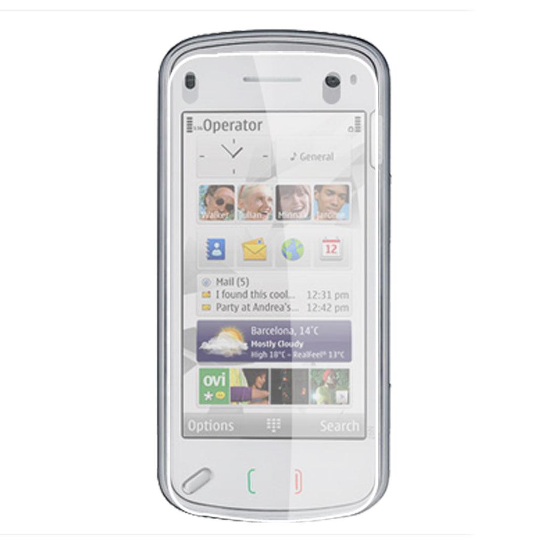 3 Pcs Anti-scratch Clear LCD Screen Film Guard for Nokia N97 Mini