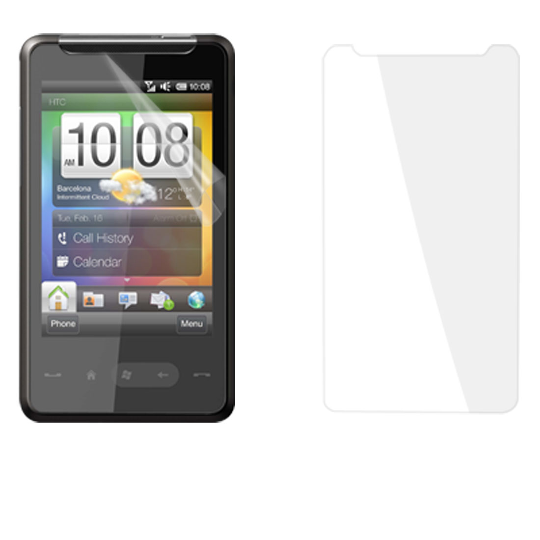 3 Pcs Replaceable Clear LCD Screen Protector for HTC HD Mini
