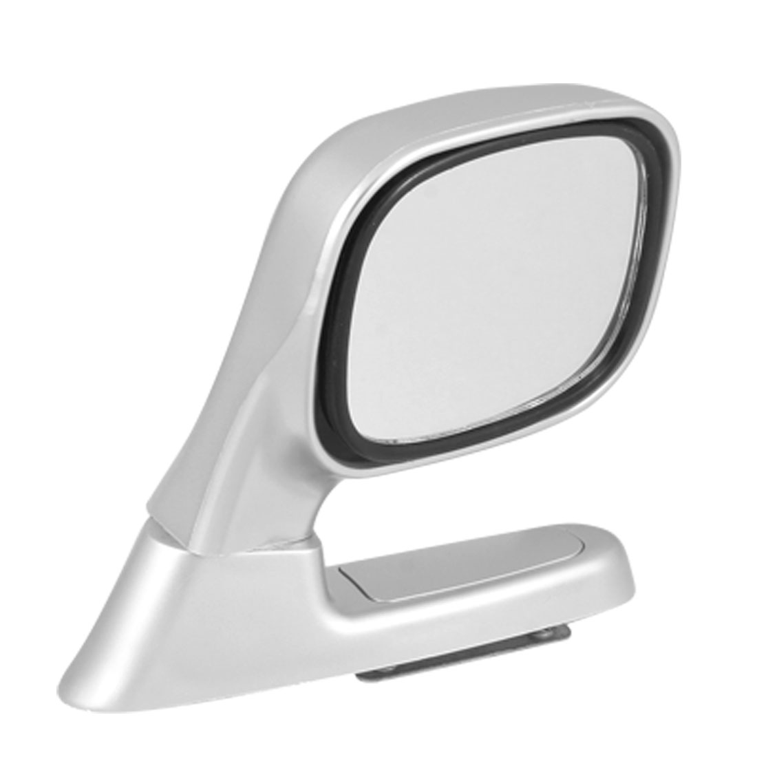 Angle Adjustable Right Side Silver Tone Assistant Mirror for Car