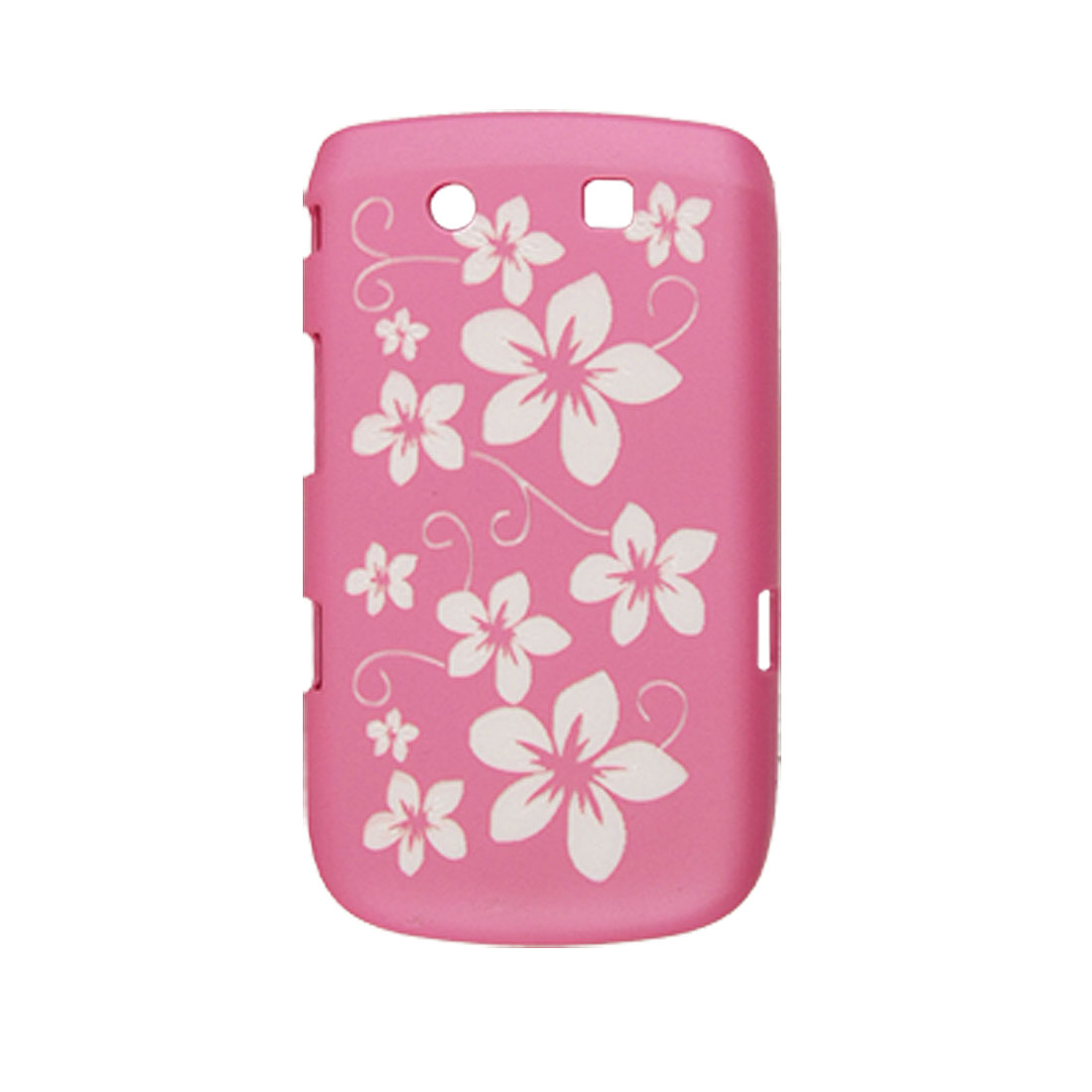 Fuchsia Antislip Plastic Back Case for Blackberry 9800