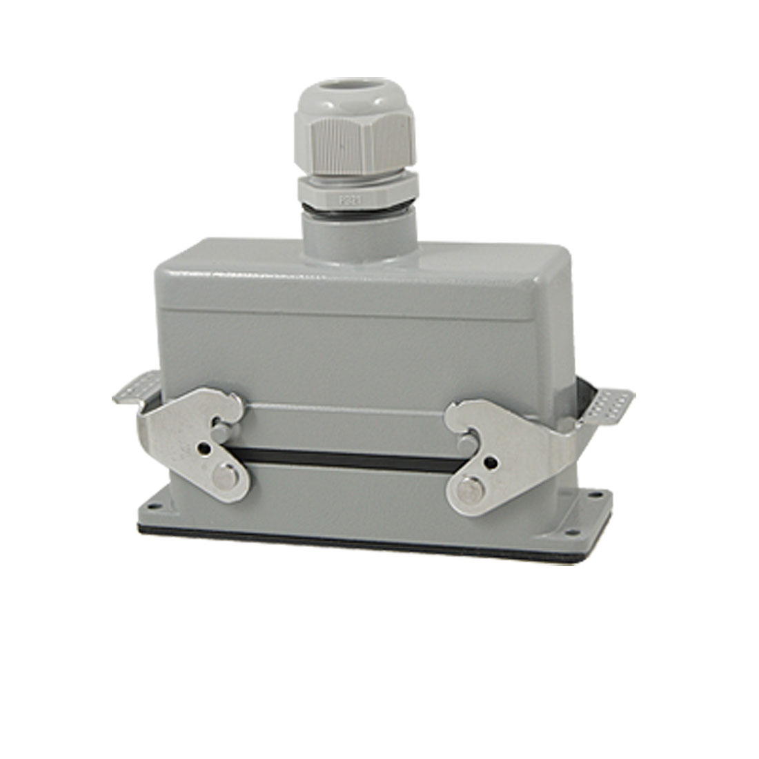 Vertical PG21 Entry Hood 24 Pin Crimp Terminals Connector