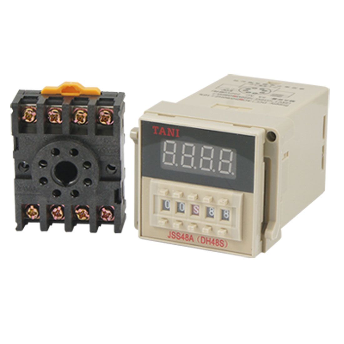 AC 220V Programmable 1S-99H Range Time Delay Relay Counter