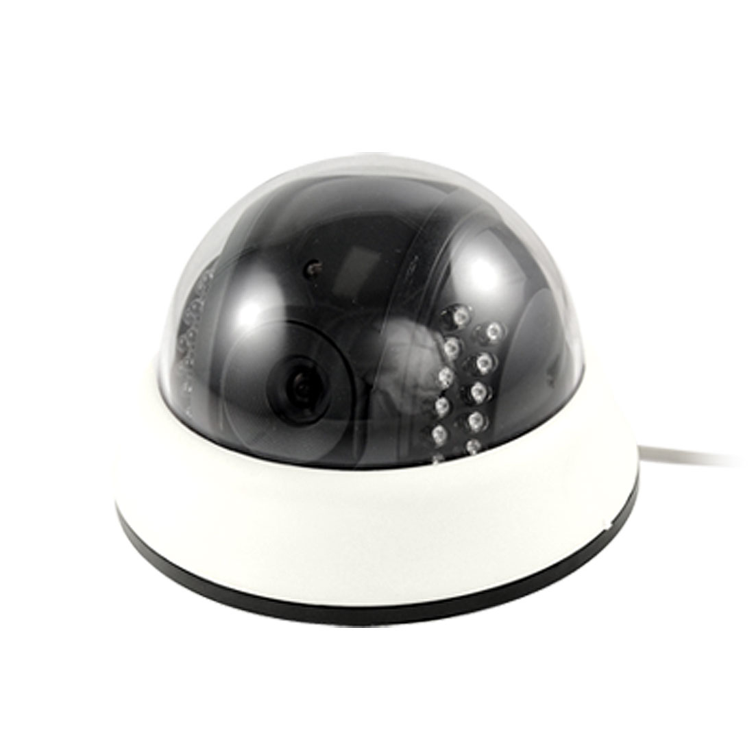EU Plug AC 110-240V Power Adapter IR Auto 1/4 Sharp CCD PAL Dome CCTV Camera