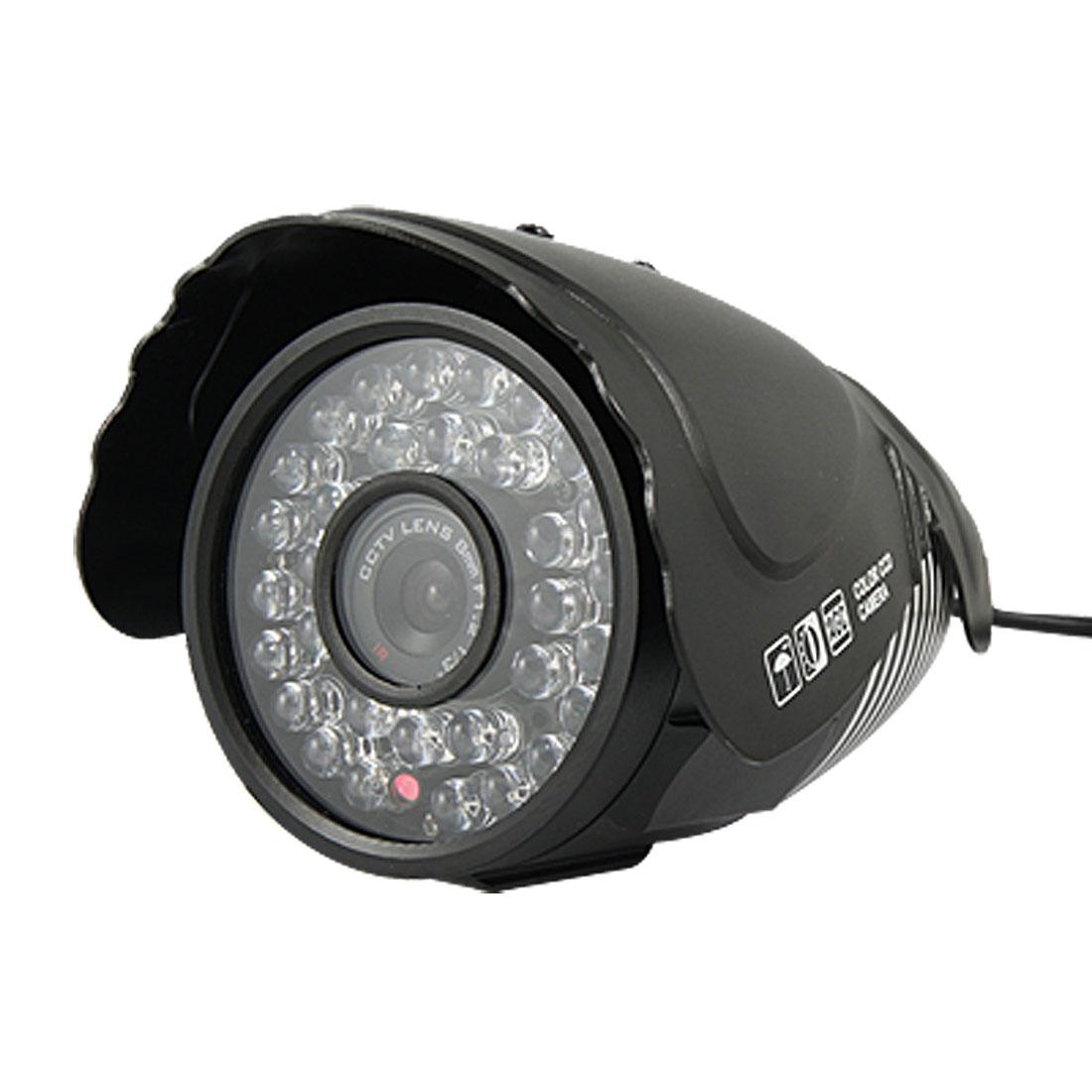 """EU Plug AC 110-240V 32 LEDs 8mm Lens 1/3"""" IR Digital CCTV Camera w Charger"""
