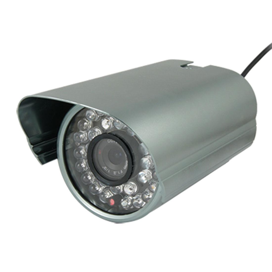 EU Plug AC 110V-240V 32 LEDs 6mm Lens 1/4 Sharp CCD IR CCTV Camera