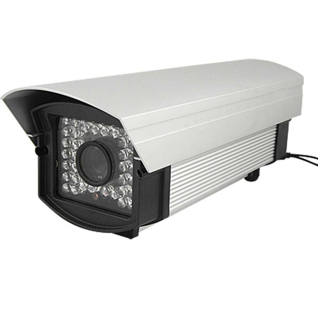 EU Plug AC 110V-240V 12mm Lens Ceiling 1/4 Sharp CCD IR CCTV Camera w Charger