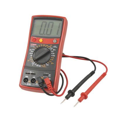 LCD Display AC DC Voltage Current Backlight Testing Digital Multimeter