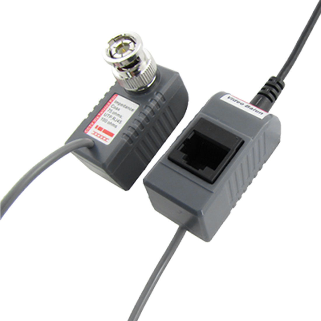 CCTV Camera BNC 2.1x5.5mm Video Power Balun 200M UTP Transceiver