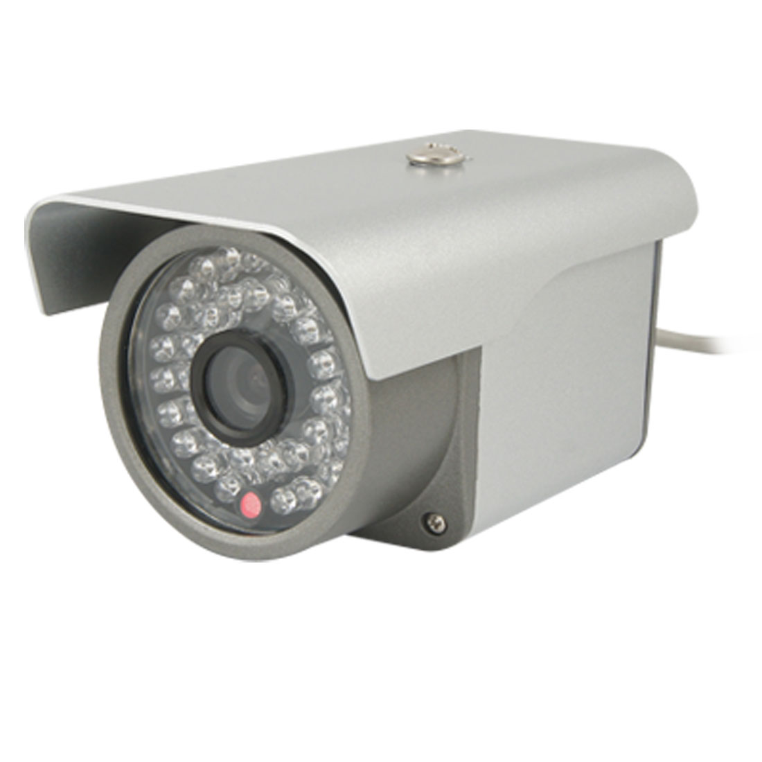 DC 12V 6mm 60 Lens Degree Infrared Security CCD Video Camera