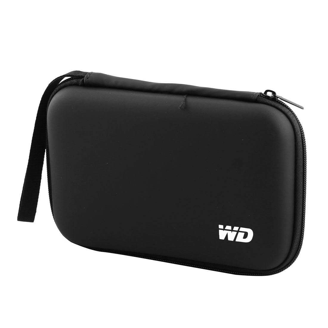 "Portable Hard Disk Drive Shockproof Zipper 2.5"" HDD Hardcase Case Cover Bag Black"