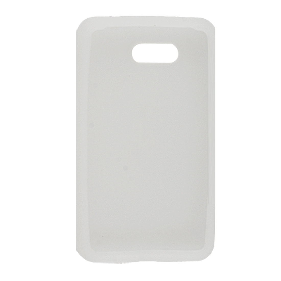 White Silicone Skin Soft Case Protector White for HTC HD Mini