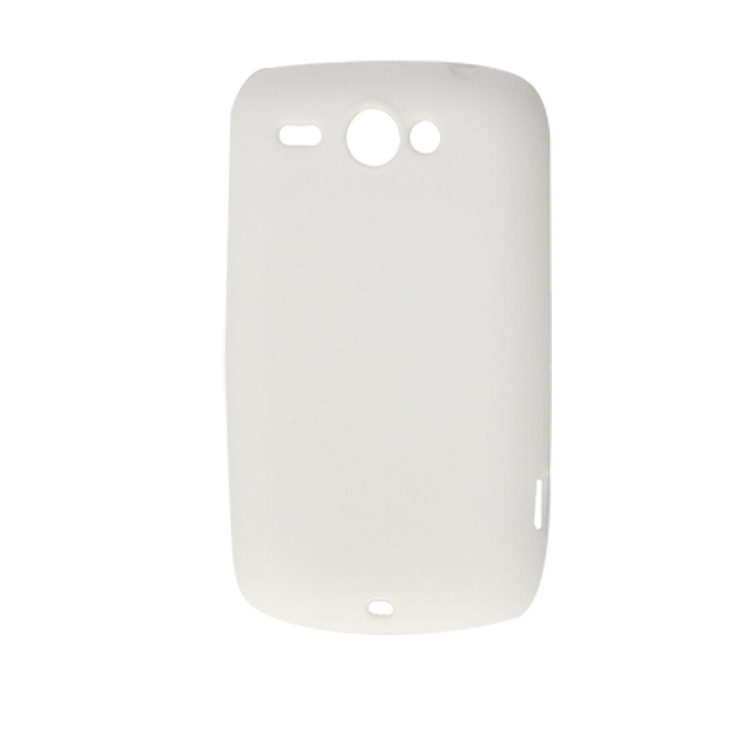 Protective Soft Silicone Skin White Cover for HTC Wildfire G8