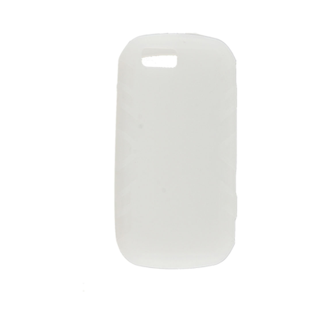 White Silicone Skin Soft Protective Case for Motorola i1