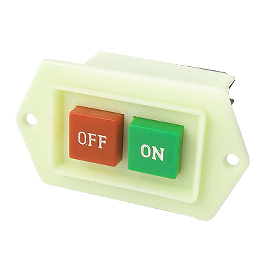 Lime Plastic Red Green Button Switch for Machine Tool
