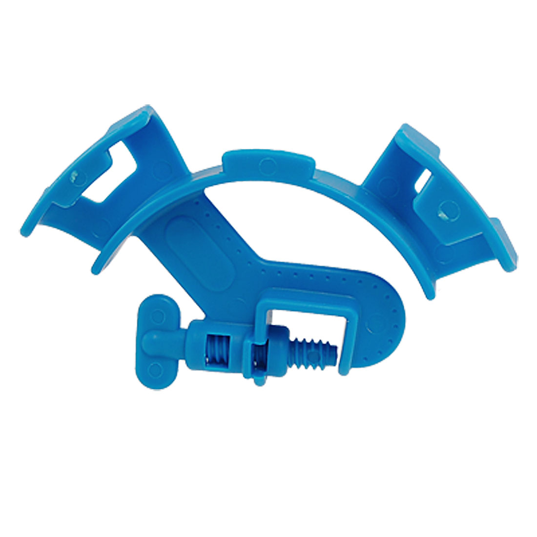 Fish Aquarium Blue Plastic Hose Holder for Mount Tube