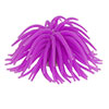 Fish Tank Aquarium Decoration Purple Silicone Sea Anemone