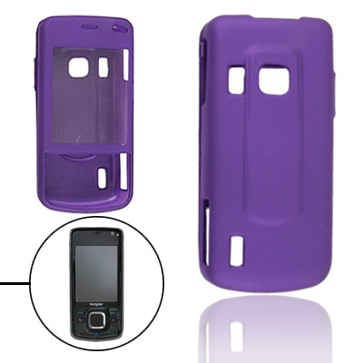 Purple Hard Plastic Protective Cover Case for Nokia 6210