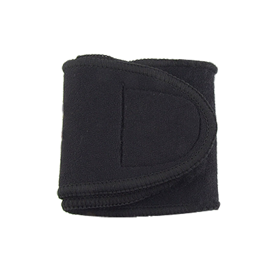 Black Detachable Closed Wrist Support Protector Wrap Band S