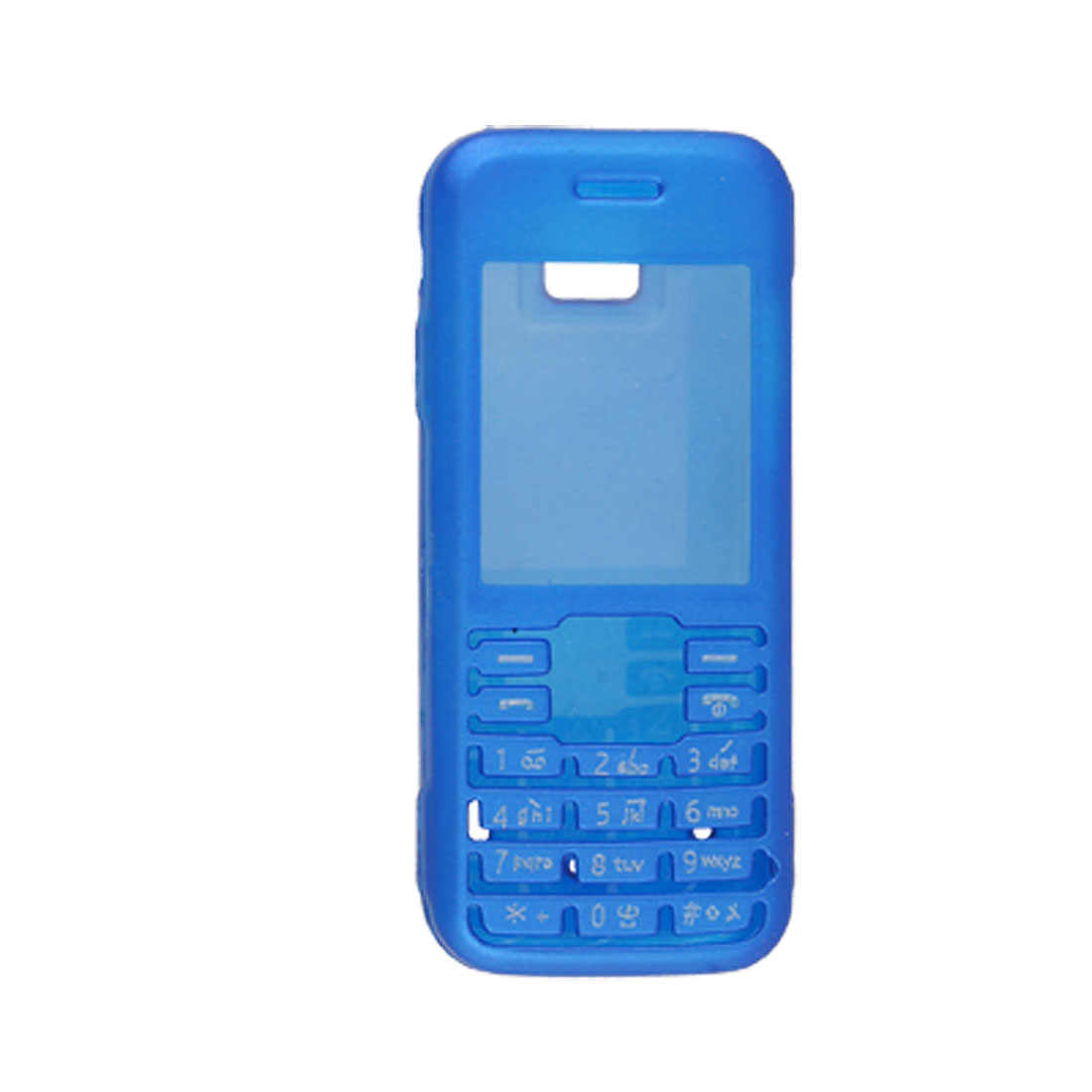 Protective Two Parts Blue Hard Plastic Case for Nokia 7310S