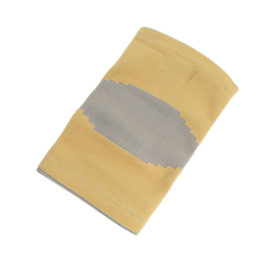 Yellow Lavender Striped Elastic Knee Sleeve Support Protector