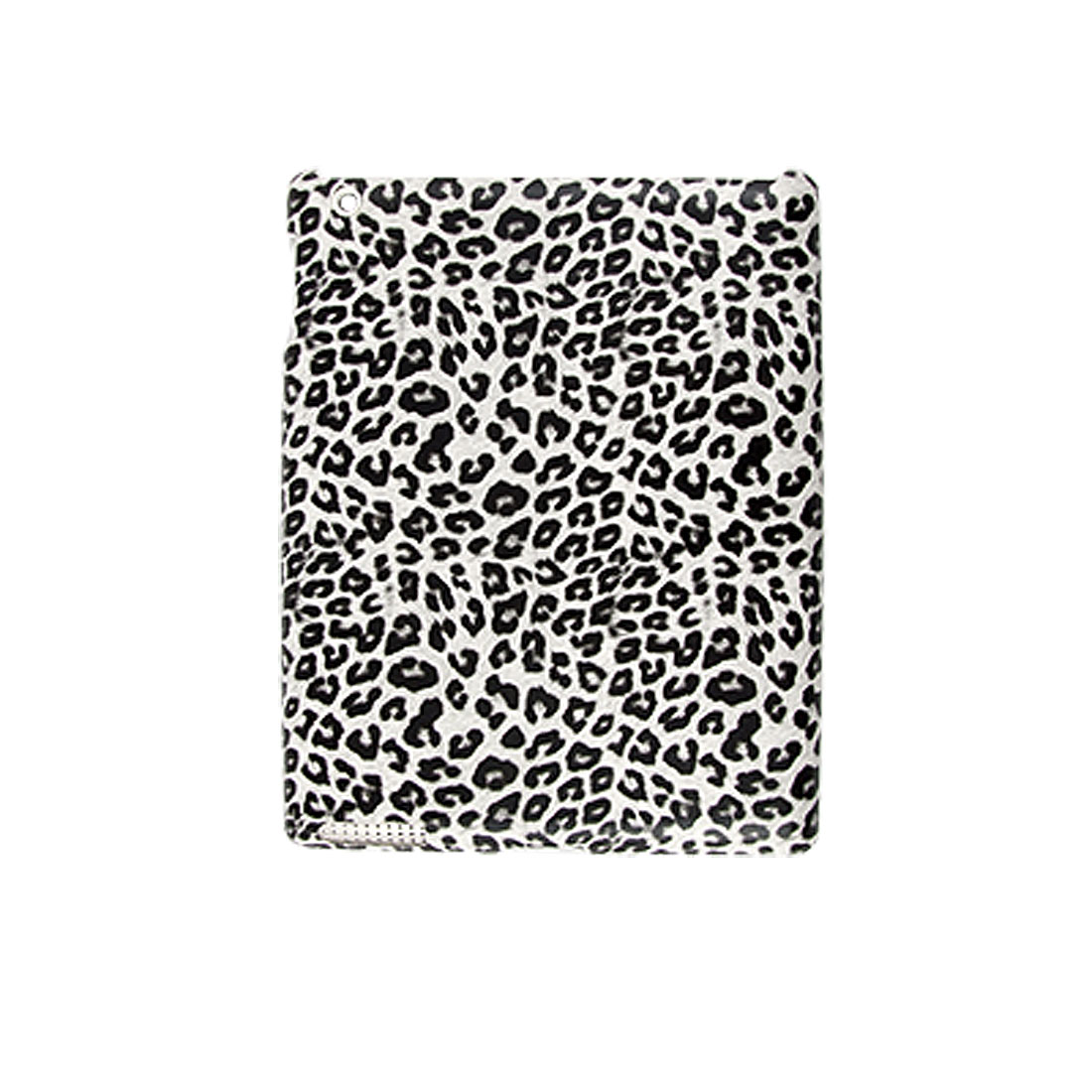 Black Leopard Print Hard Plastic Back Cover for iPad 2G
