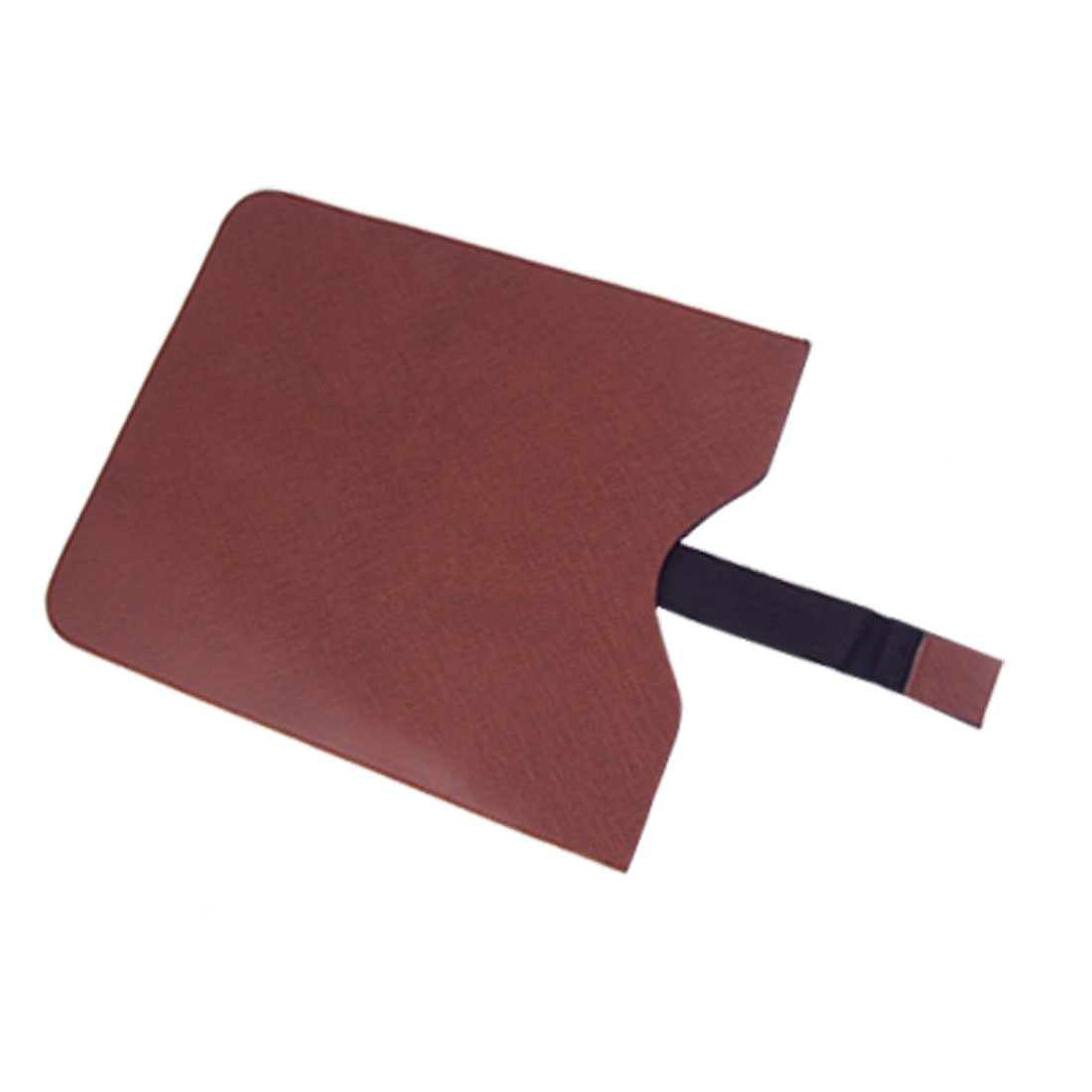 Brown Faux Leather Pull up Pouch Sleeve for iPad 2nd Gen