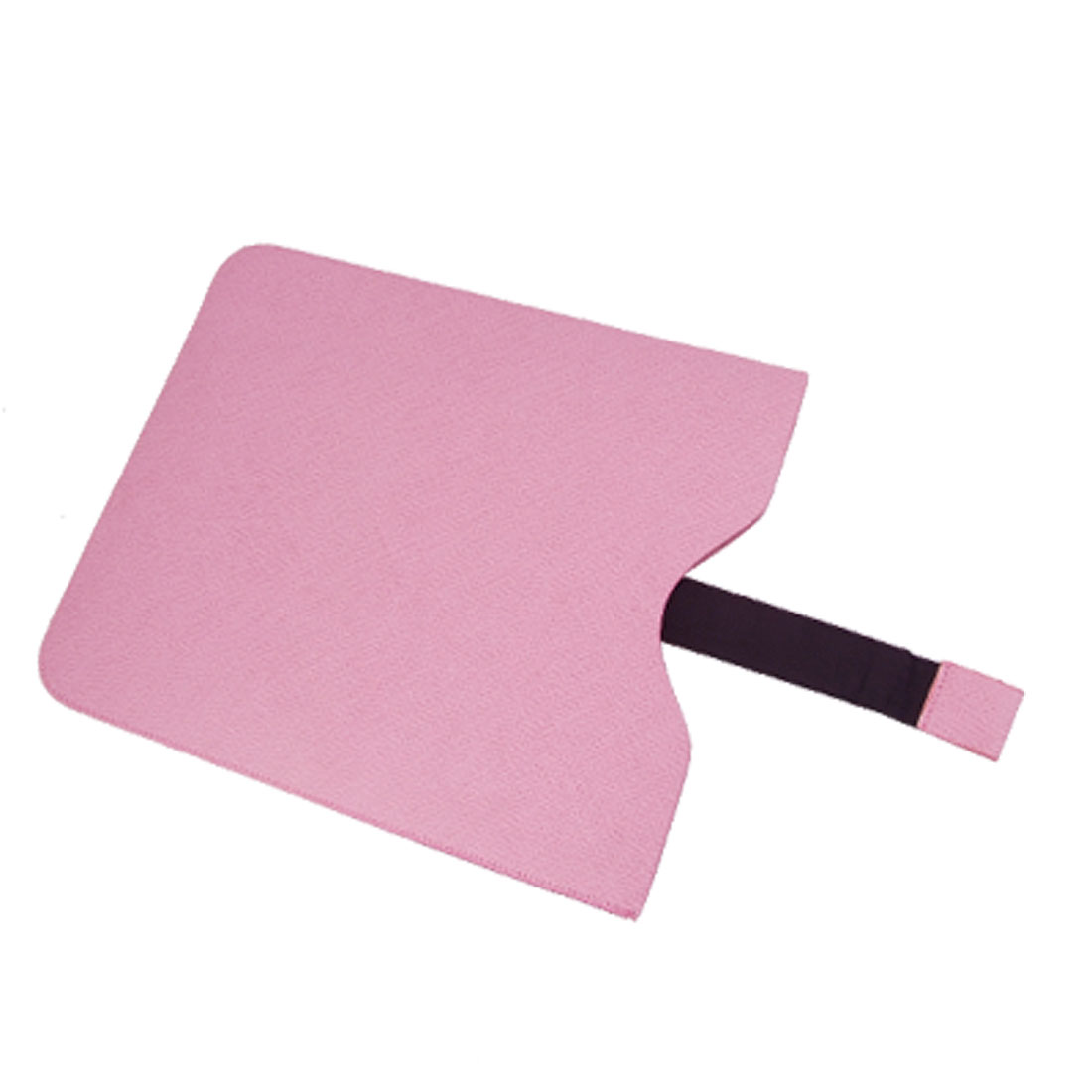 Pink Faux Leather Pull up Pouch Holder for Apple iPad 2