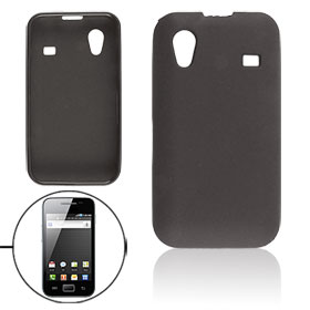 Black Soft Plastic Case Protector for Samsung Galaxy Ace S5830