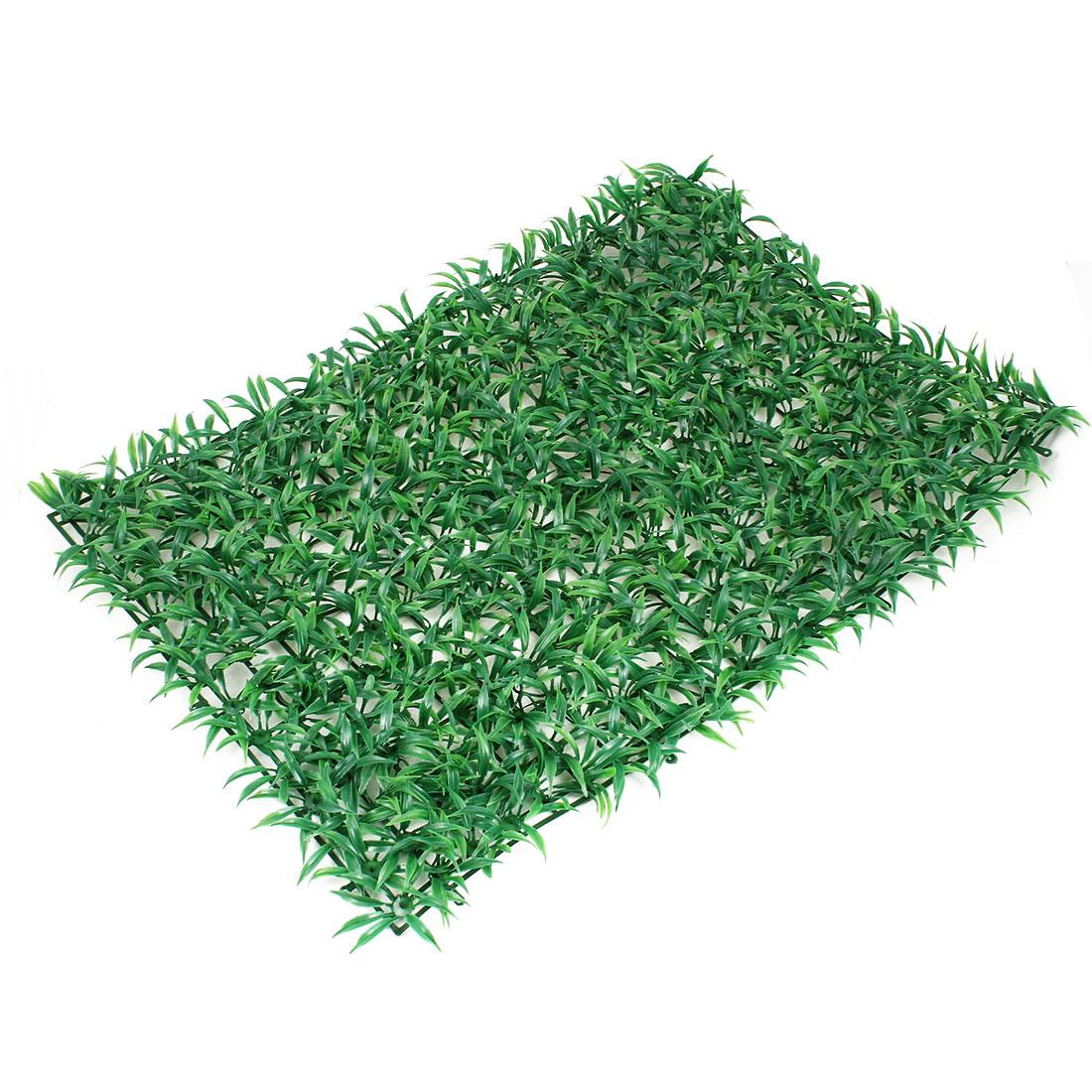 Aquarium Plastic Grass Lawn Artificial Landscape Green