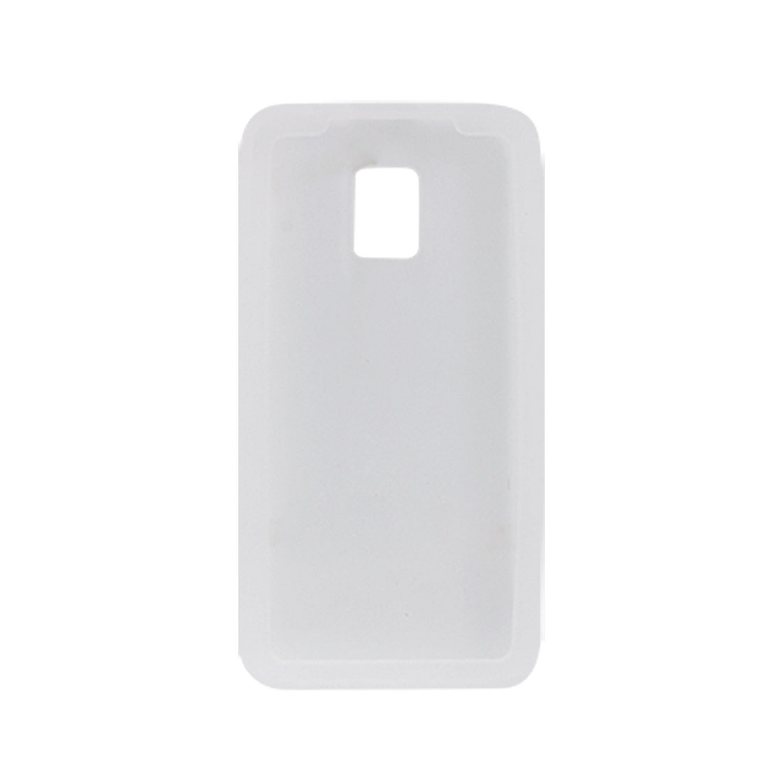 Surface Smooth Clear White Silicone Skin Soft Cover for LG Optimus 2X Star SU660