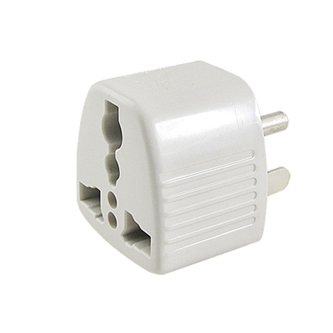 3 Pin US Plug AC 250V Travel Adapter Converter for AU EU UK Socket