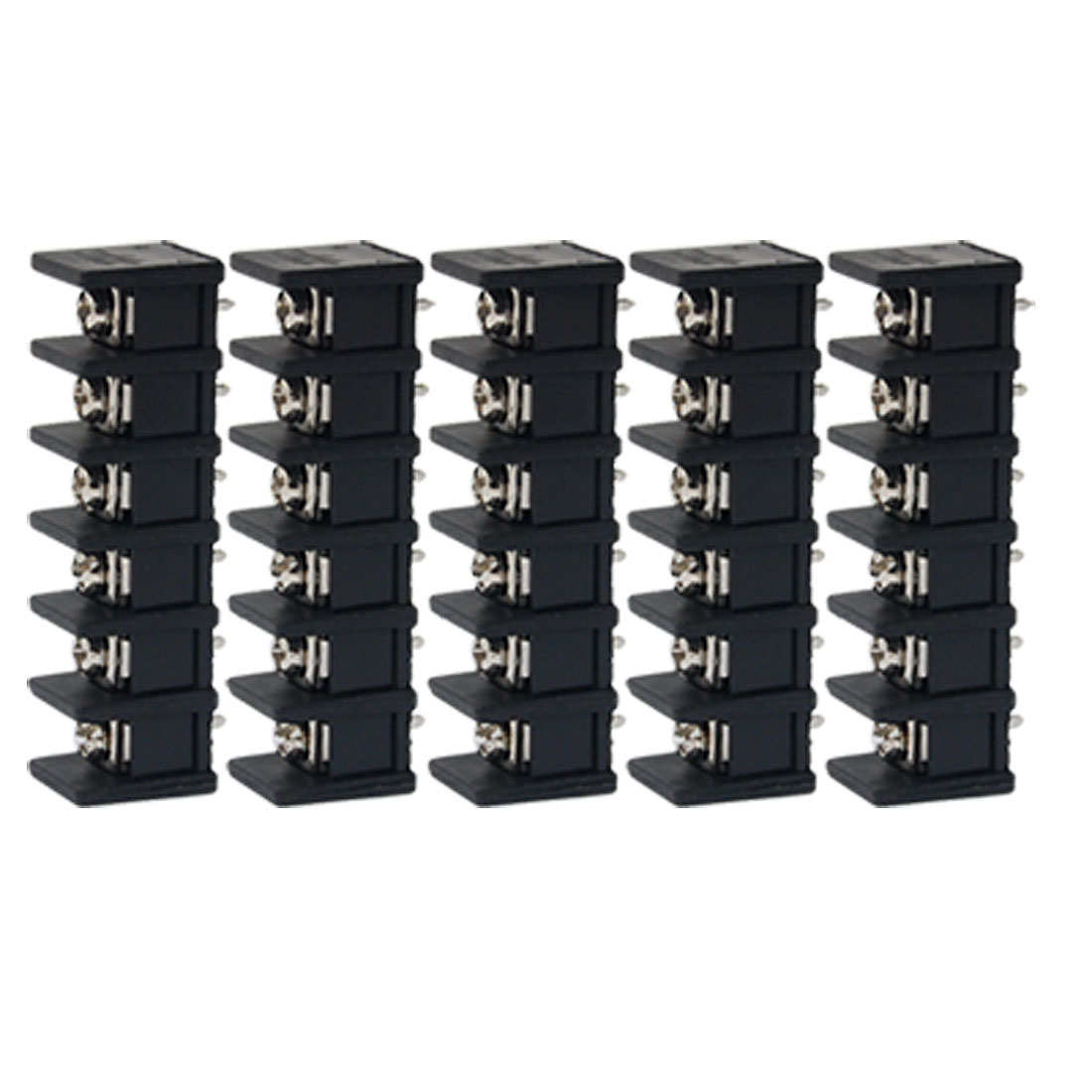 5 Pcs 6P 8.5mm Pitch Screw Terminal Block Connector 300V 20A