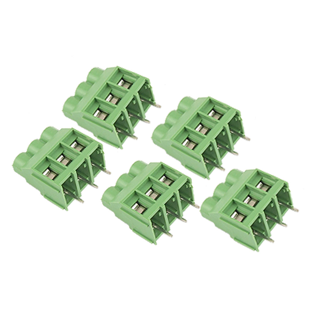 5 Pcs 3 6.25mm Pitch Screw Terminal Block Connector 30A